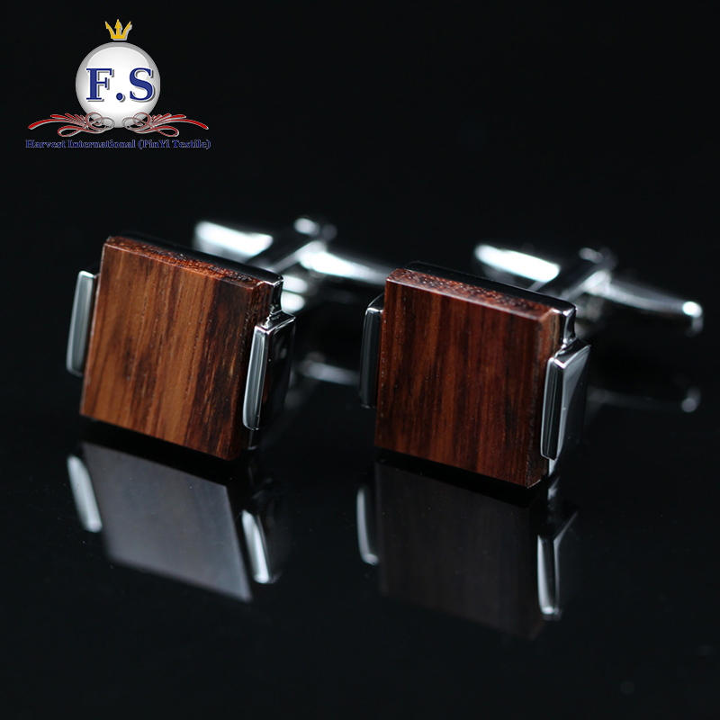 high quality bulk cufflinks wood