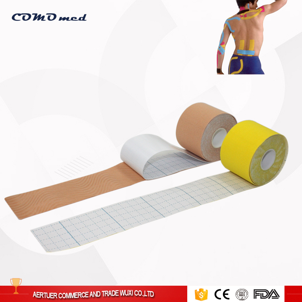 Cheap Price Tourmaline Tape On Kinesiology Patch For Knee