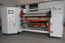 YU-802 automatic tape/paper/film log roll into small roll rewinding machine