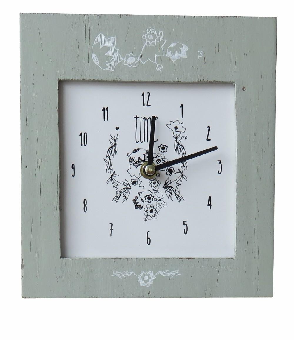 Home Goods Clocks: 164jc111 Custom Wood Wall Clock For Home Decorative Wood