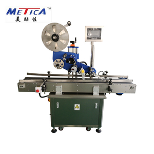 MT-220 Automatic Top or Flat Sides Adhesive Sticker Labeling Machine Factory Price
