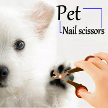 2Pcs Pet Nail Claw Grooming Scissors Clippers For Dog Cat Bird Gerbil Rabbit Ferret Small Animals Newest Hot Search