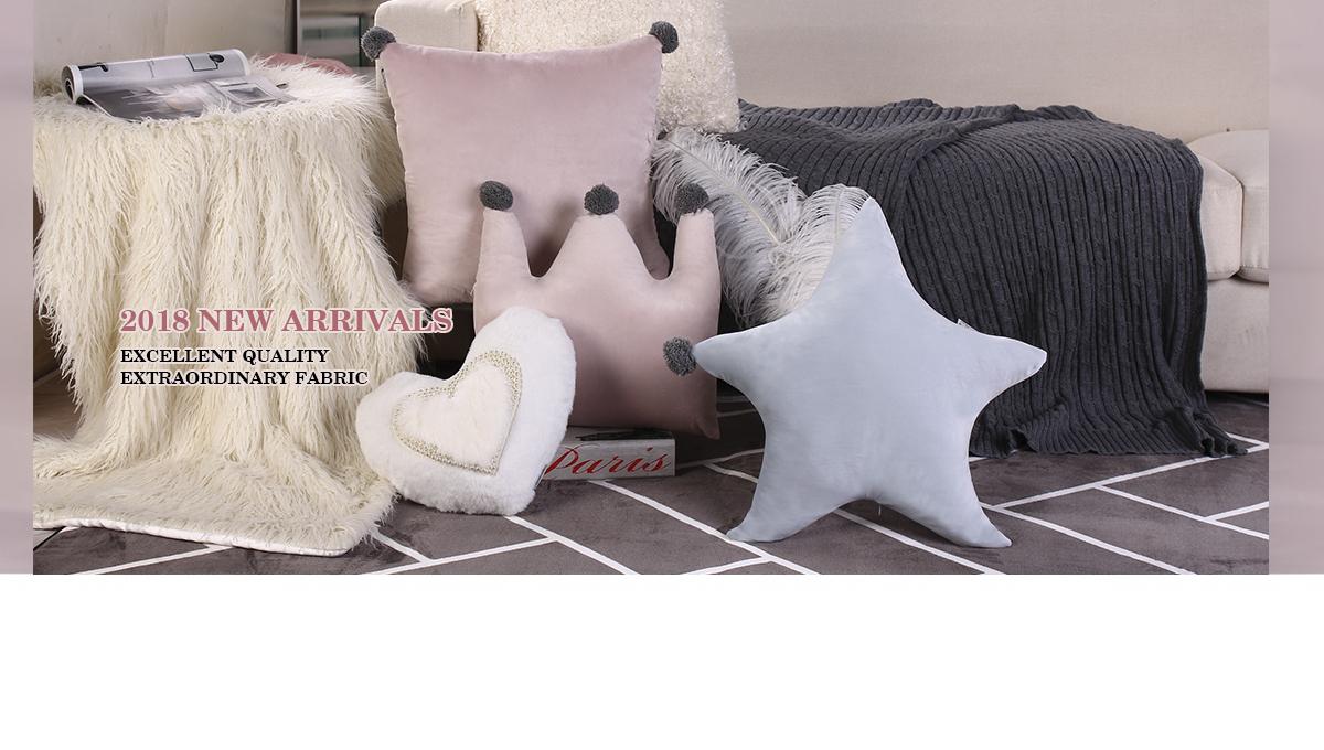 Guangzhou Coco Home Fabric Home Decoration Co., Ltd.   Cushion, Pillow