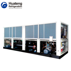 central air-conditioning used water cooled chiller