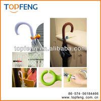 Non-slip pour plastic UMBRELLA HANGER holder hook