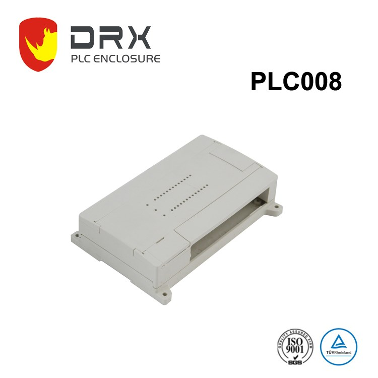IP65 ABS plastic electronic vertical din rail case