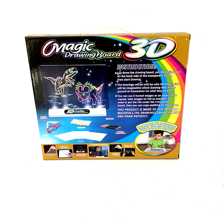 Intelligente Magic kids 3D Tekentafel