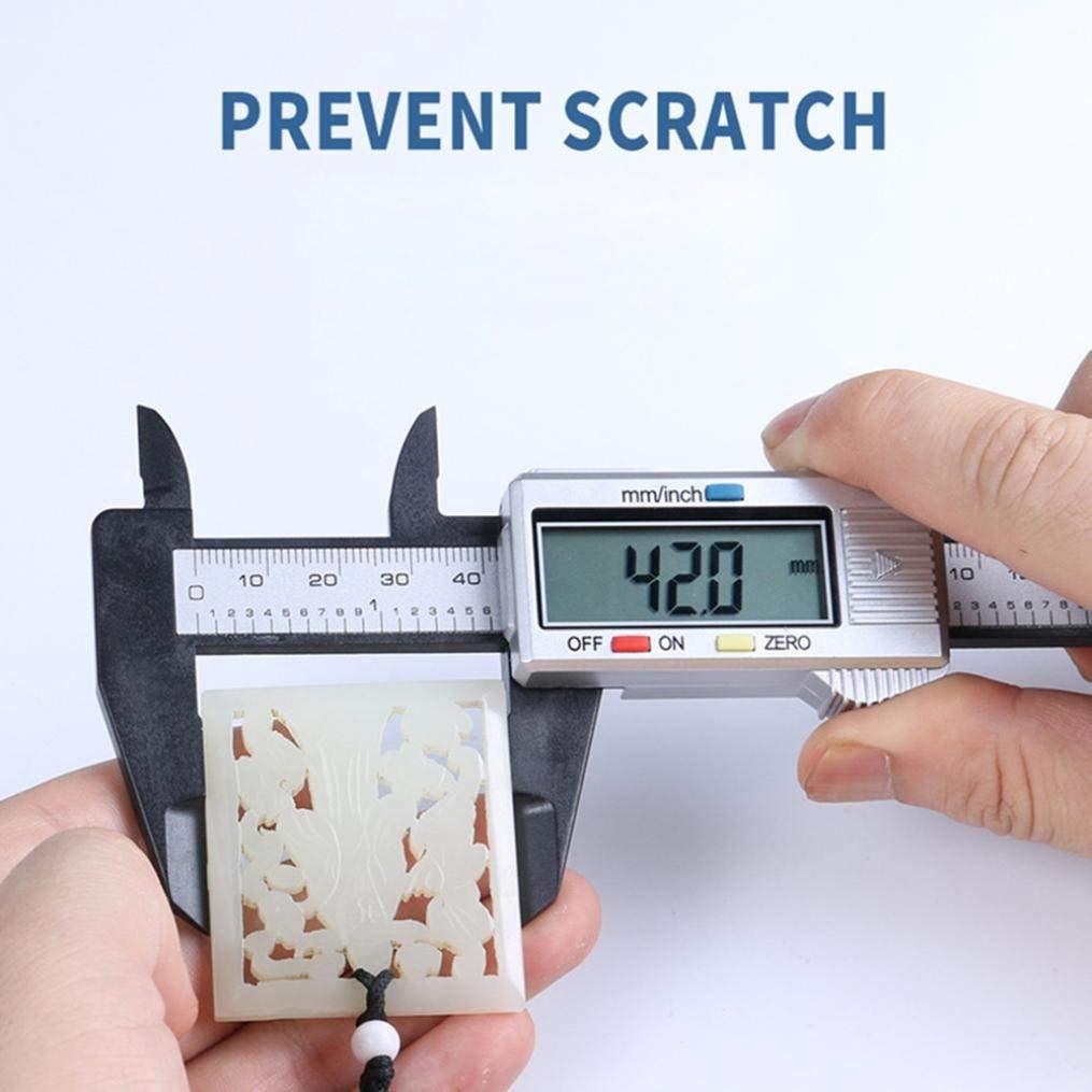 Rumas Exact Digital Micrometer Vernier Caliper, 150MM 6Inch LCD, Portable Office & Stationery Tool