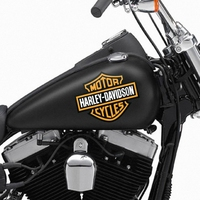 customized logo three wheel motorcycle sticker design for honda wave