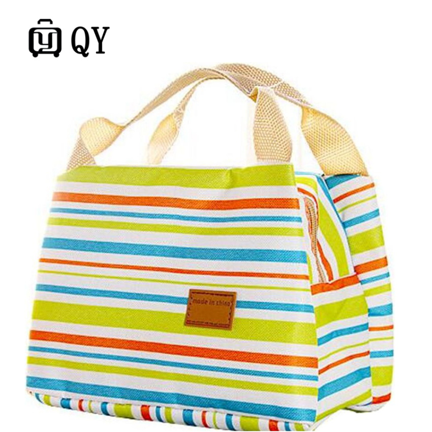 Travel Trend Insulated Portable Zipper Lunch Bag Related