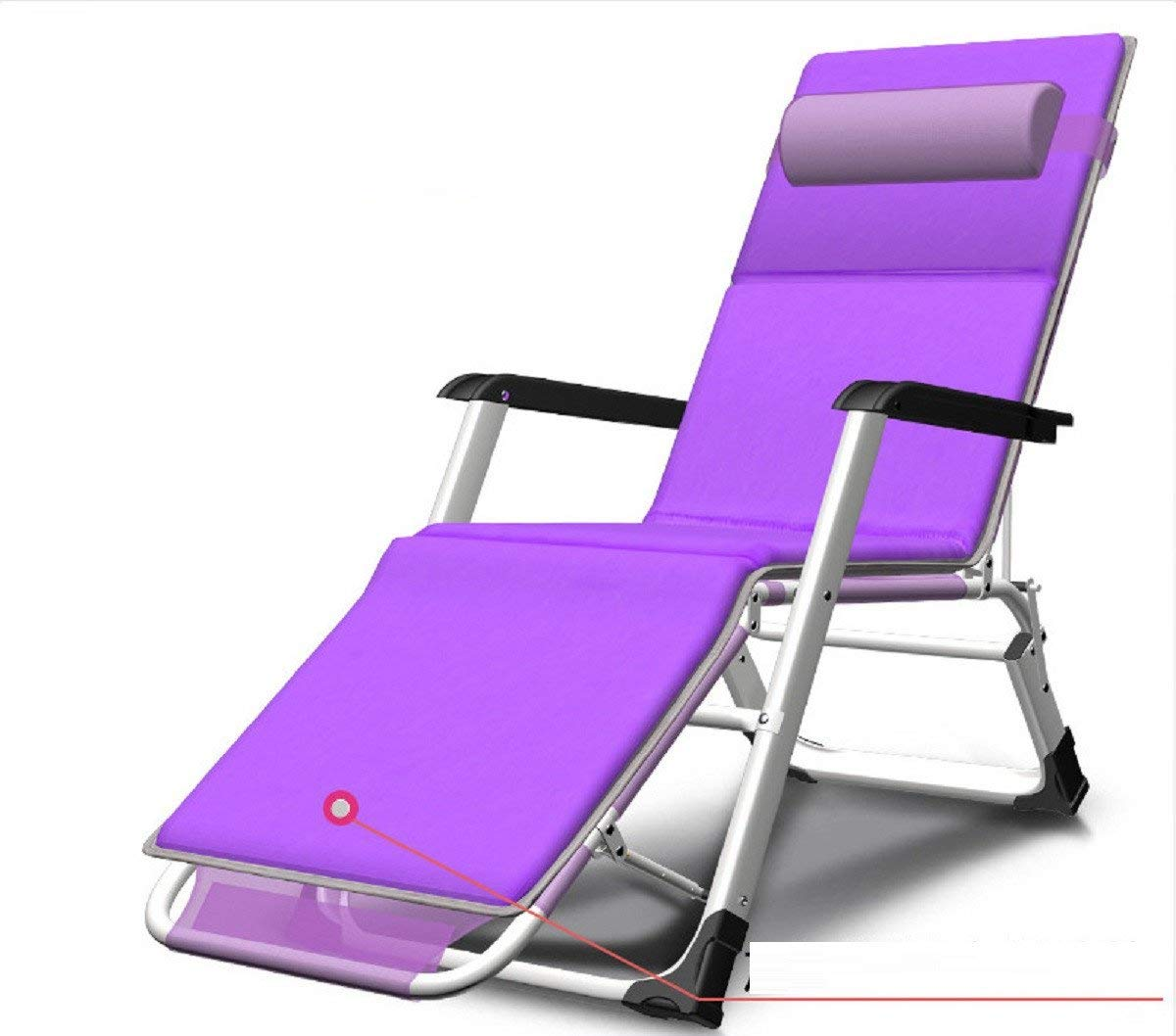 ZLJTYN Zero Gravity Chair Folding Sun Lounger Deck Chairs, Lunch Break, Nap Chair, Office Bed, Armchair, Lazy, Portable, Beach, Home Multifunction, A, 1 PACK