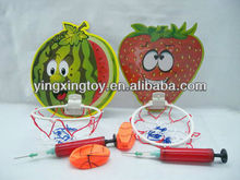 hot cartoon fruit kids sports toy basketball board