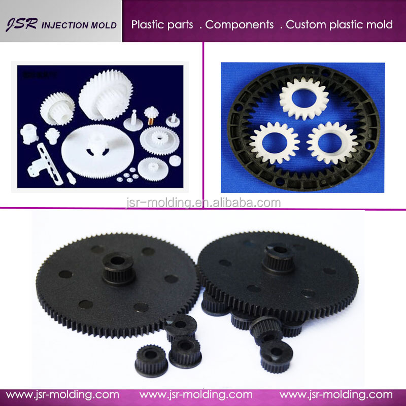 Long using life ! Manufacture plastic gears for helicopter , small rack and pinion gears and paper shredder gears based on draw