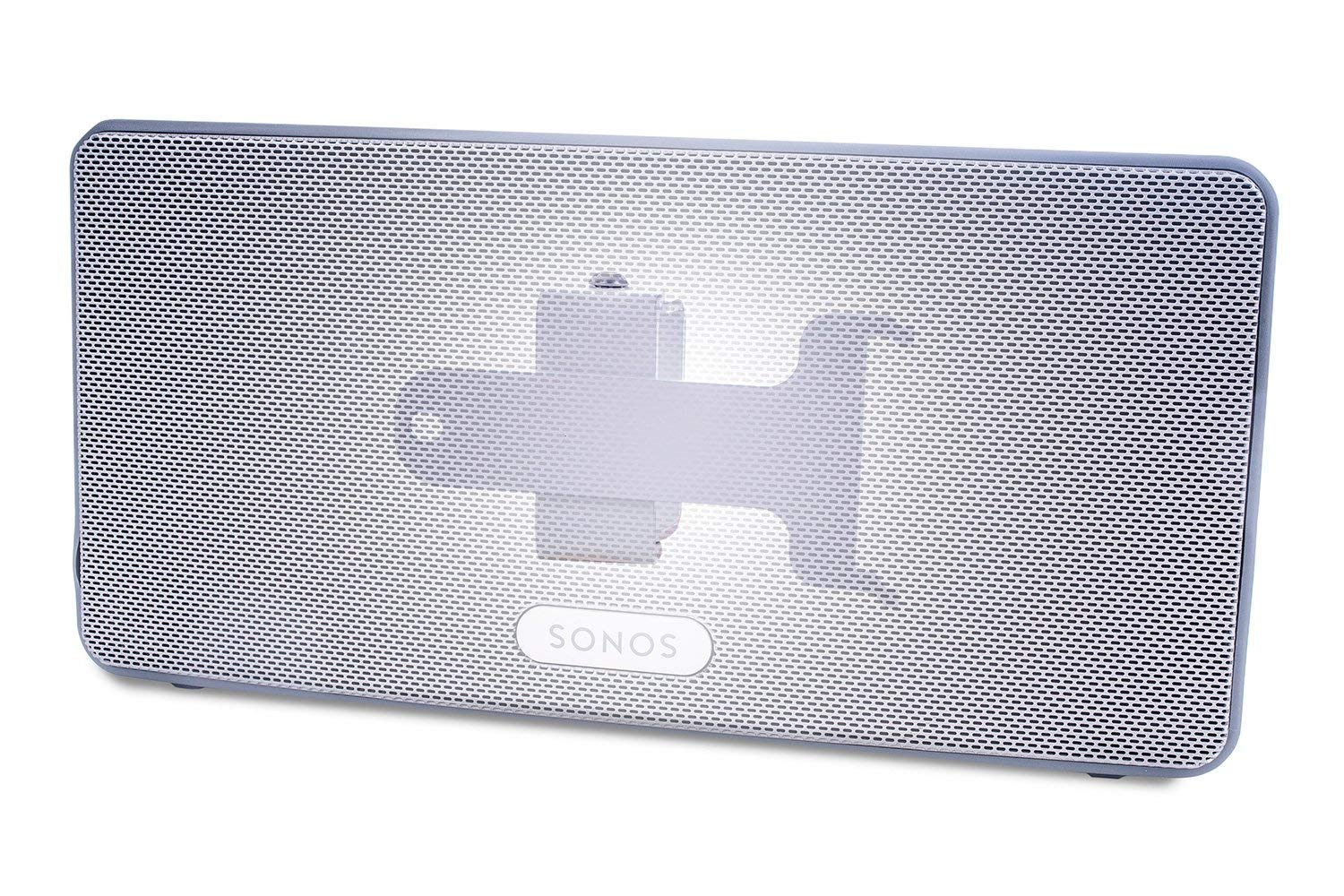 compatible with Sonos Play 3 Vebos wall mount Play 3 White 15 Degrees