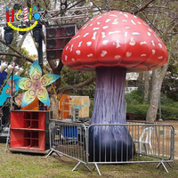 Hot sale giant inflatable mushroom, decoration inflatable mushrooms dawdle plant