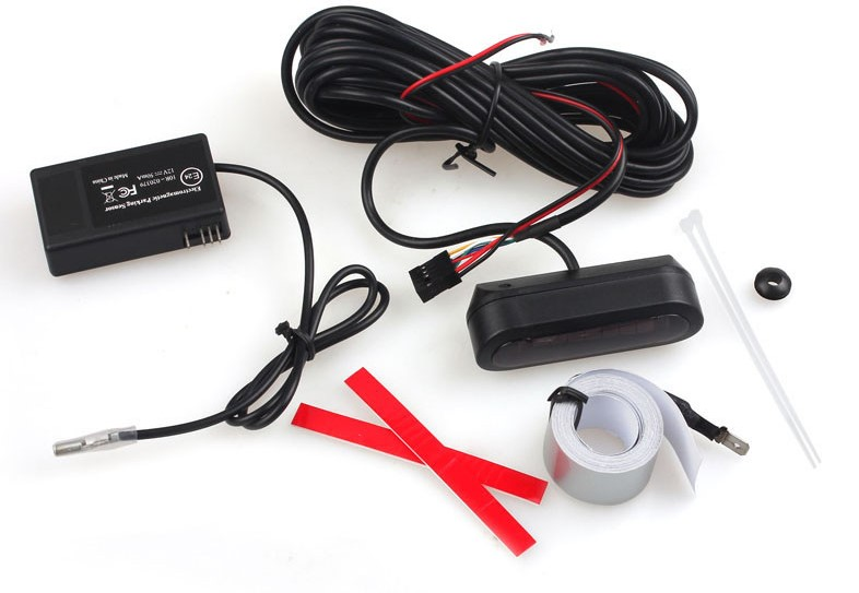 U 301 no hole Easy install without dead angle electromagnetic smart parking reverse sensor system