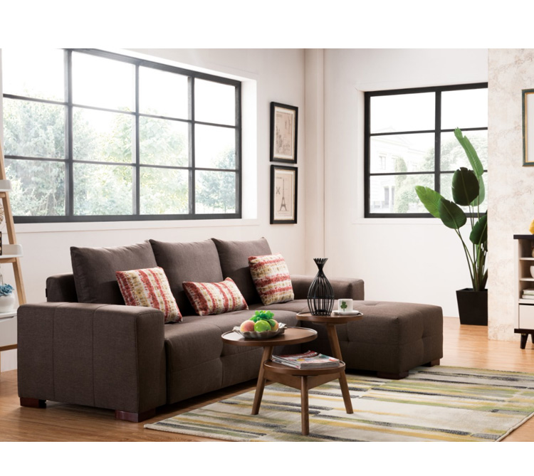 Moderne Woonkamer Stof Couch 3 Zits Couch Sofa Ontwerpen,Hoekbank ...