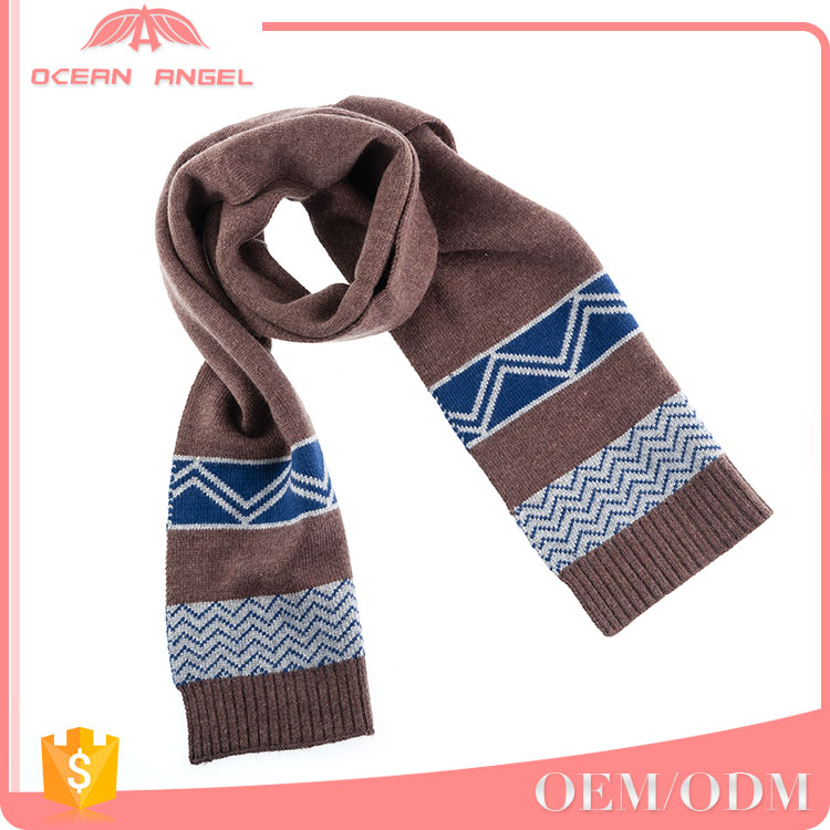 Best selling products ruffle winter unsex girls knitting winter knitted scarf made in china