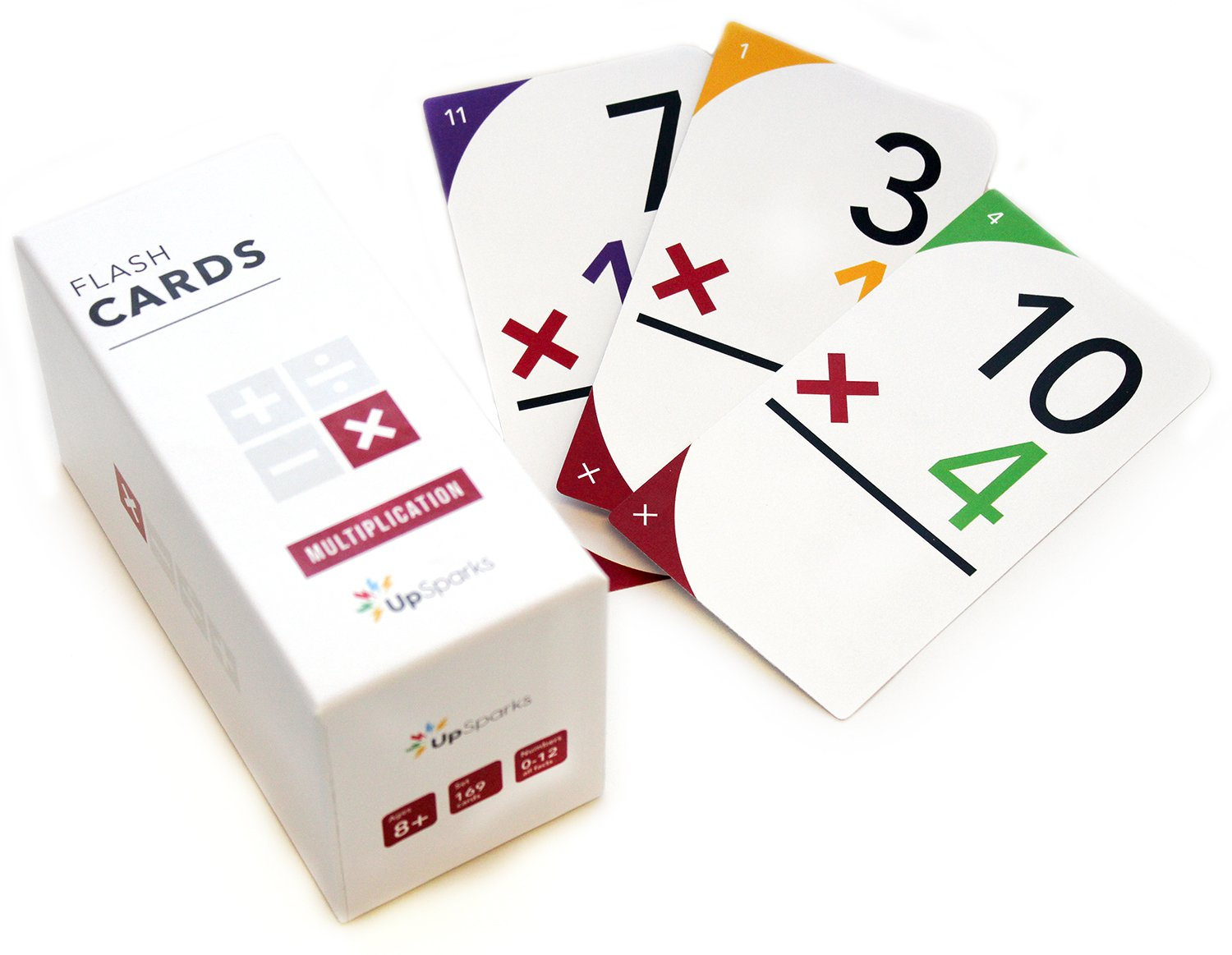 photo relating to Printable Multiplication Flash Cards 0 12 identified as Purchase UpSparks Multiplication Flash Playing cards (0-12 All Data