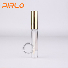 5ml New Empty Plastic PET Clear Lip Gloss Tube/bottle Lip Balm Bottle cosmetic lipstick tube