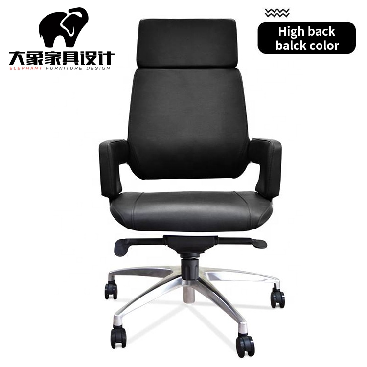 Comfortable Genuine Leather Chair High back Mid Back Boss Chairs