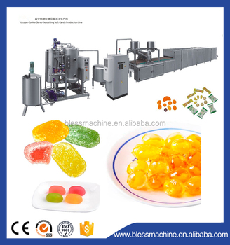 2018 Professional manufacturer jelly candy production line with Alibaba trade assurance