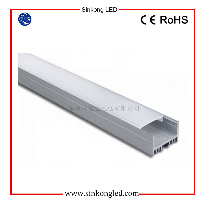 led plastic extrusions