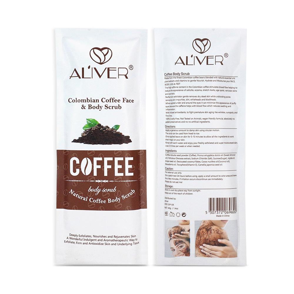 Kaffee Körper Peeling Cellulite entfernung Anti cellulite arm oberschenkel abs engen und straffende Feuchtigkeits bleaching Körper gesicht lip peeling