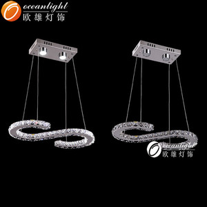 letter s shape 2014 chandelier lamp ,opal glass for chandelier lamp,modern chandelier shenzhen chandelier lamp om99031