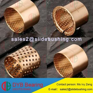 all split copper bronze bushings/slide brass wrapped bushing high quality manufacturer