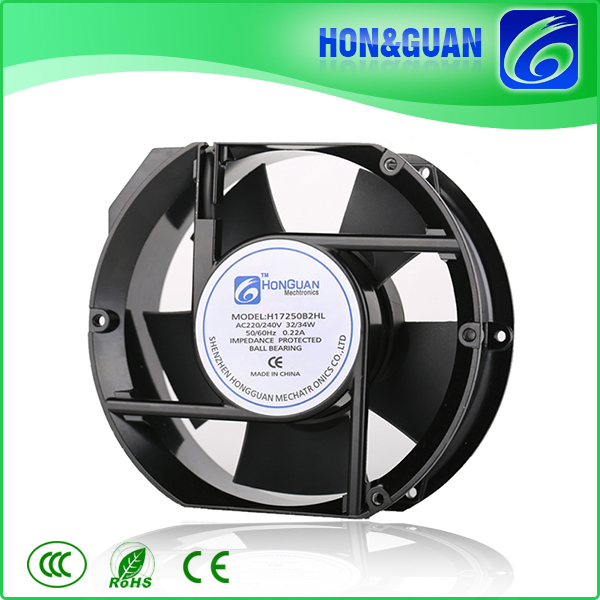 ce certificated series motor AC axial flow fan for equipment