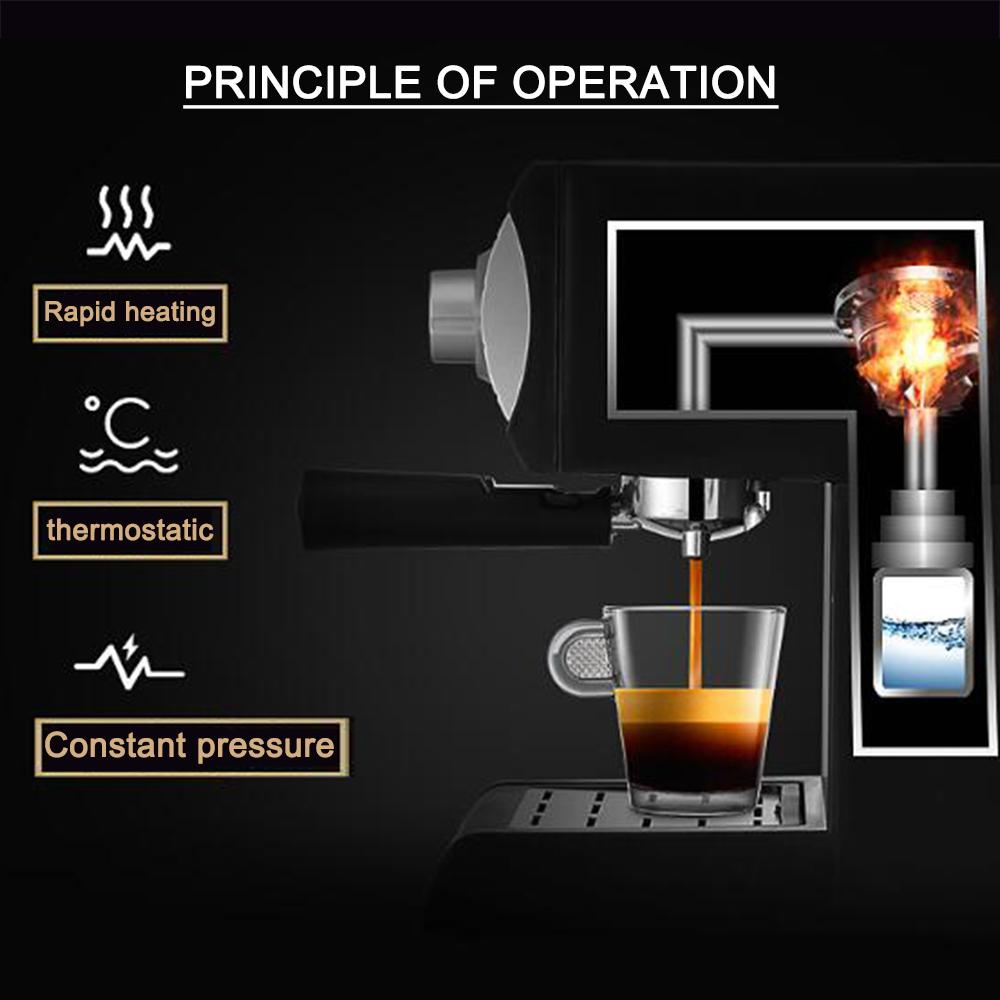 Sonifer جديد تصميم اسبريسو ماكينة القهوة 1.2 L ماكينة صنع قهوة اسبريسو كابتشينو SF-3529
