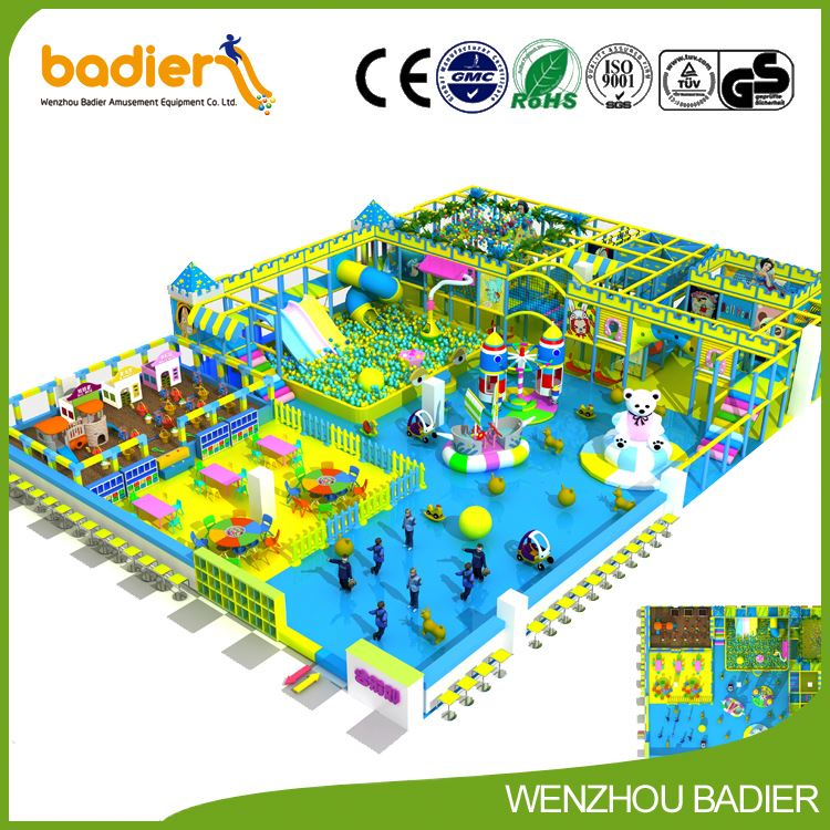 High Quality Commercial Playground Equipment For Sale At