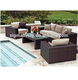 Low Price Outdoor Furniture Swimming Pool Side Used Rattan Sofa Set