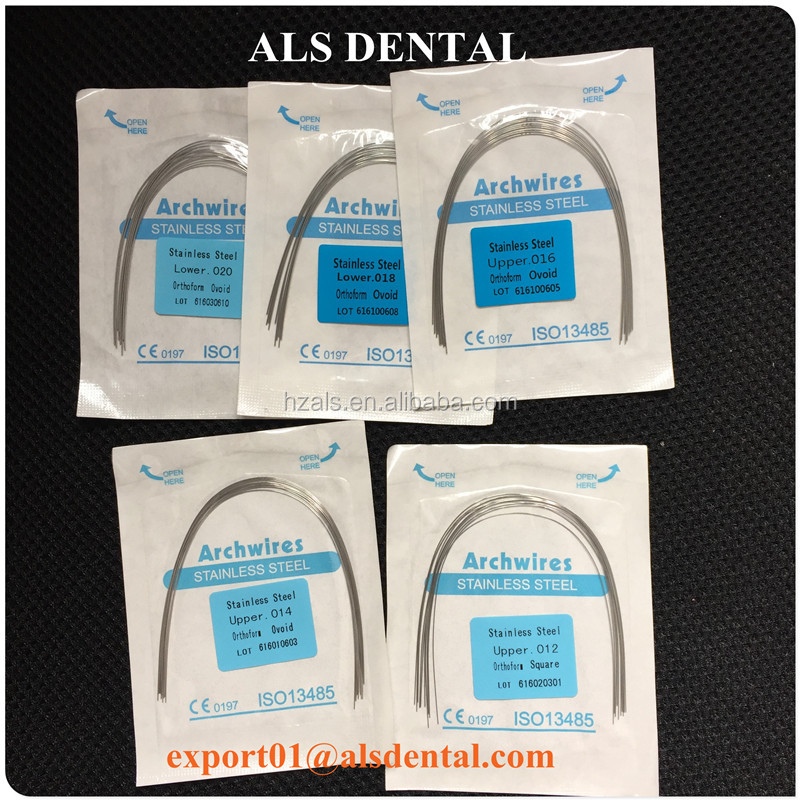 Sale Orthodontic Stainless Steel Tooth Wire Braces Dental Arch Wire ...