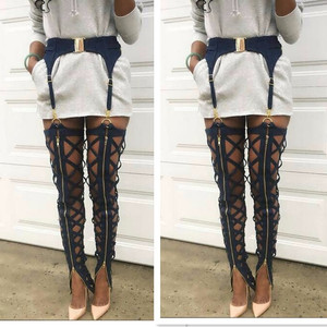 2018 Fashion Sexy Party Bandage Night Club Women's Pants Trousers