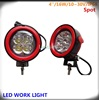 Motorcycle Flash light Red/black 16w Cr ee SUV/Truck led offroad light for all vehicles