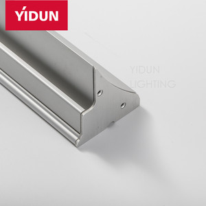 YIDUN LIGHTING Led Anodized Fixtures Aluminum glass Waterproof Led Aluminium Extrusion Profile