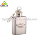 Available color 1oz mini stainless steel diamond embossed liquor wine hip flask bottle