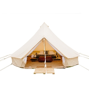 Family Mouldproof Tipi Tent Glamping Beach Wedding Bell Tent