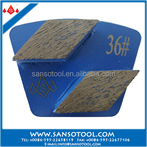 Sanso A Grade Diamond Grinding Plate for Terrazzo Floor and Concrete Polishing