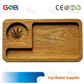 cheap price raw small rolling metal tin tray customize raw Herb tobacco rolling tray