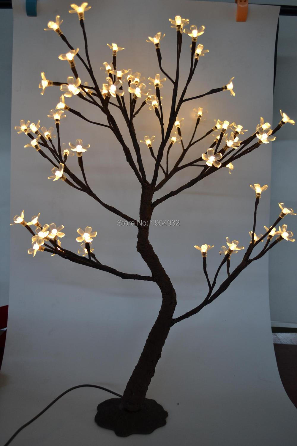 Indoor Amp Outdoor 64 Led Cherry Blossom Tree Light In 70cm