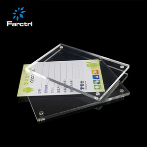 High Quality Open Display Price Tag Stand Acrylic Menu Holder