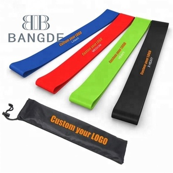 OEM Latex Resistance Yoga bands Loop,Superior High Quality Loop yoga Gym Bulk Exercise Latex Resistance Band