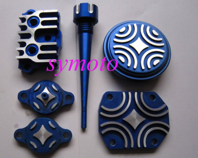yx engine alloy dress up parts cnc cylinder head cover