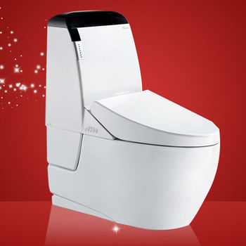 Gizo JJ-0806 Round Toilet Bowl Shape and Floor Mounted Installation Type western toilet