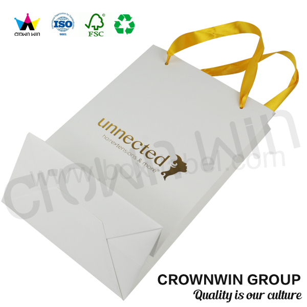 High Quality Printed Brand Paper <strong>Bag</strong> With Logo CrownWin Packaging