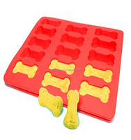 Cute Bones Shape Cheap Silicone Molds For Tray Cake Decorating