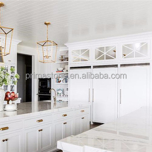 White round Kitchen Cabinets To Brighten Up Your Cooking Space